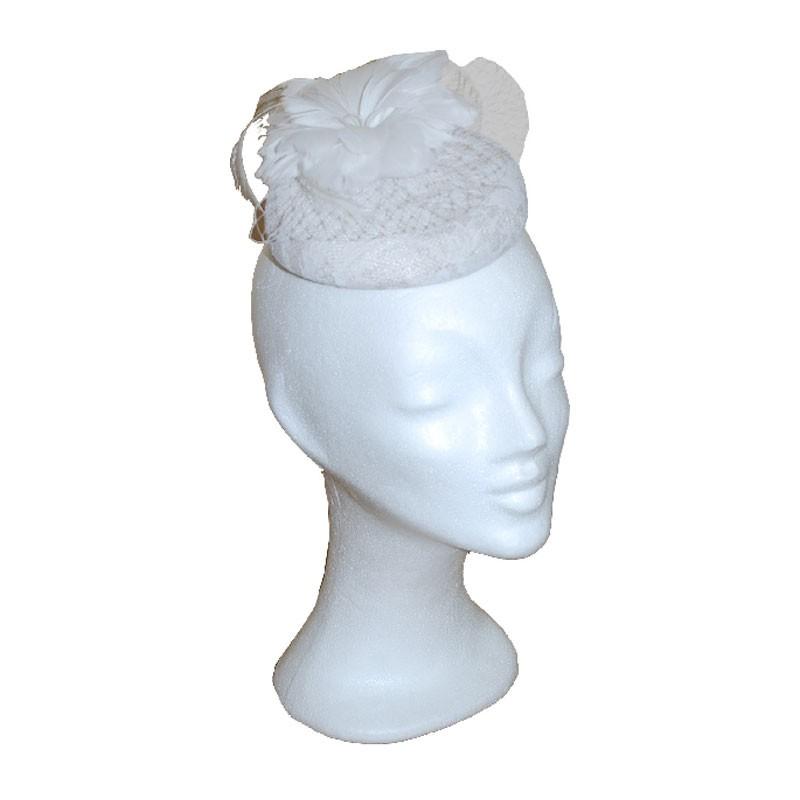 Fejdísz -  fehér fejdísz
