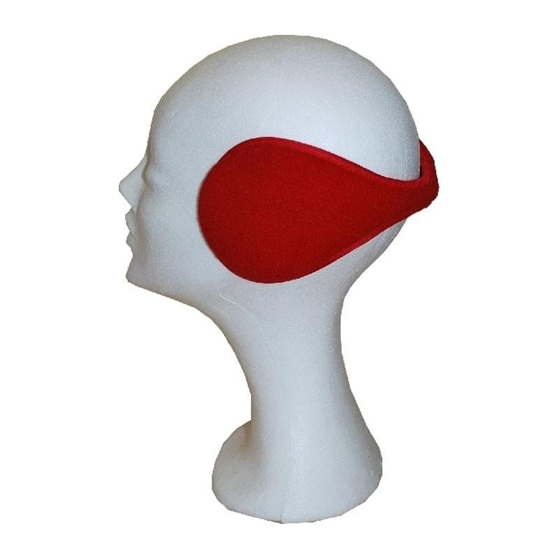 Fülvédő - unisex piros fülvédő