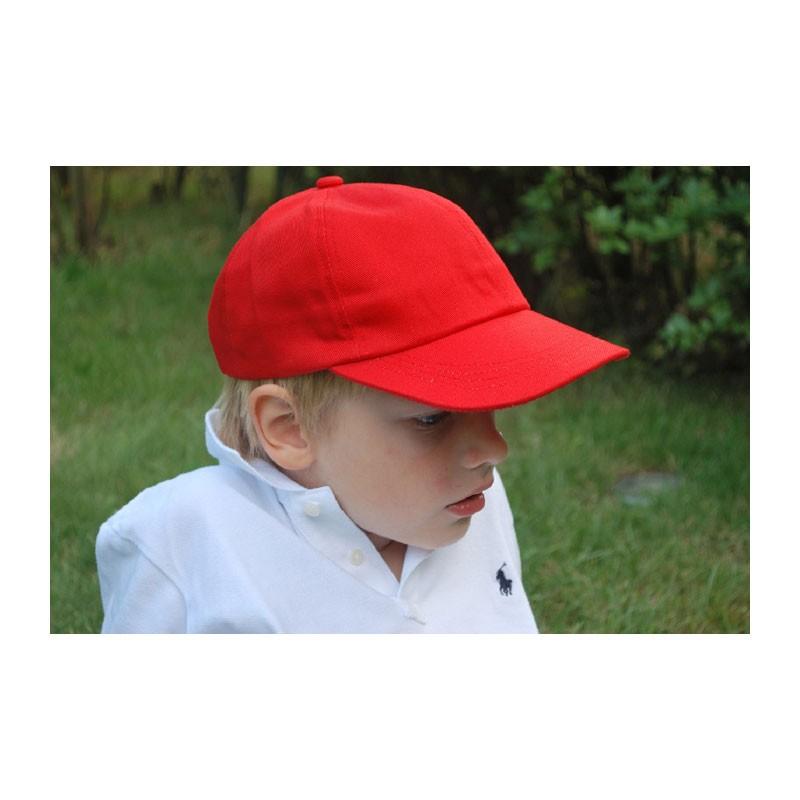 KOTRÁS piros baseball nyári gyerek sapka