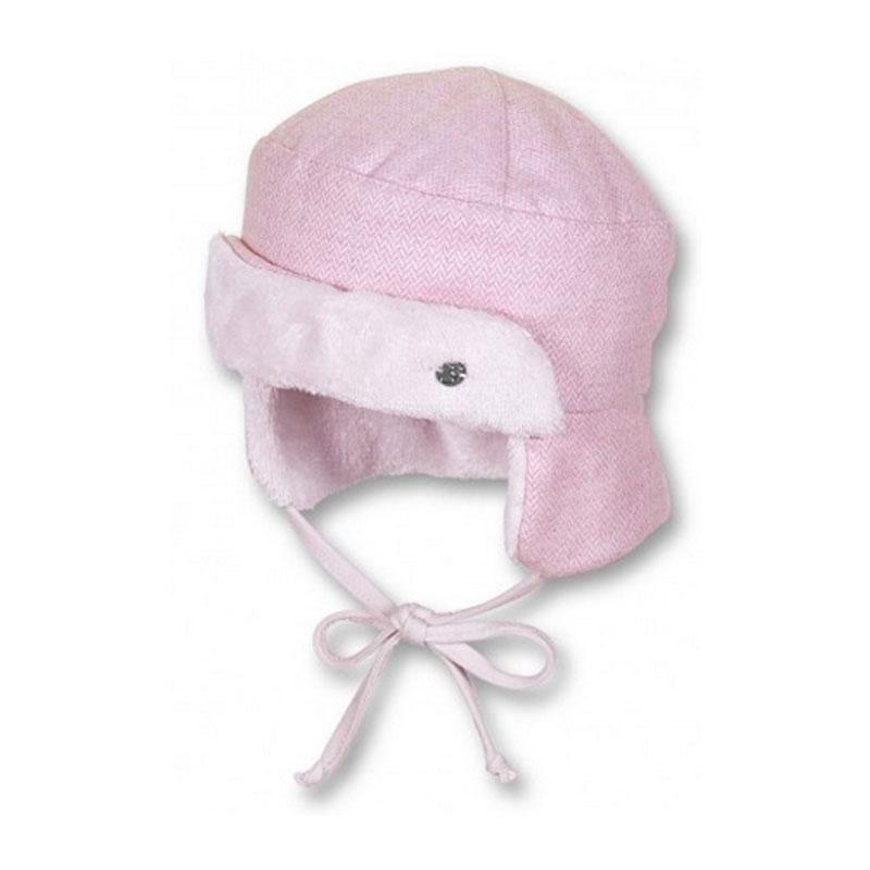 STERNTALER rózsaszínű sapka téli gyerek sapka