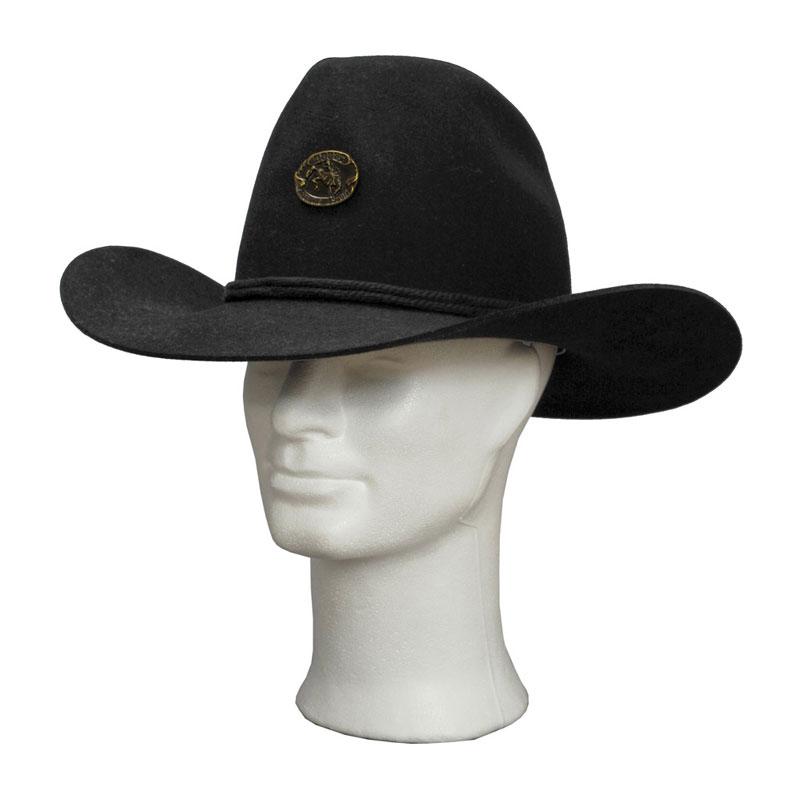 TONAK nyúlszőr fekete 683 cowboy kalap