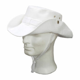 KOTRÁS vászon fehér cowboy kalap