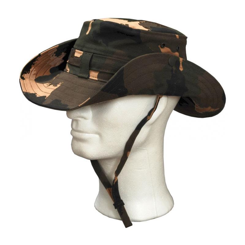 KOTRÁS vászon terepmintás cowboy kalap