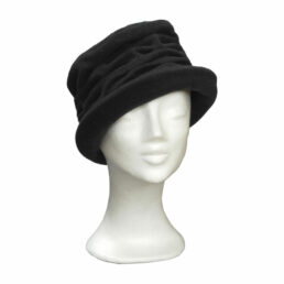 KOTRÁS fekete húzott kalap