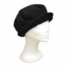 KOTRÁS fekete körkarimás kalap