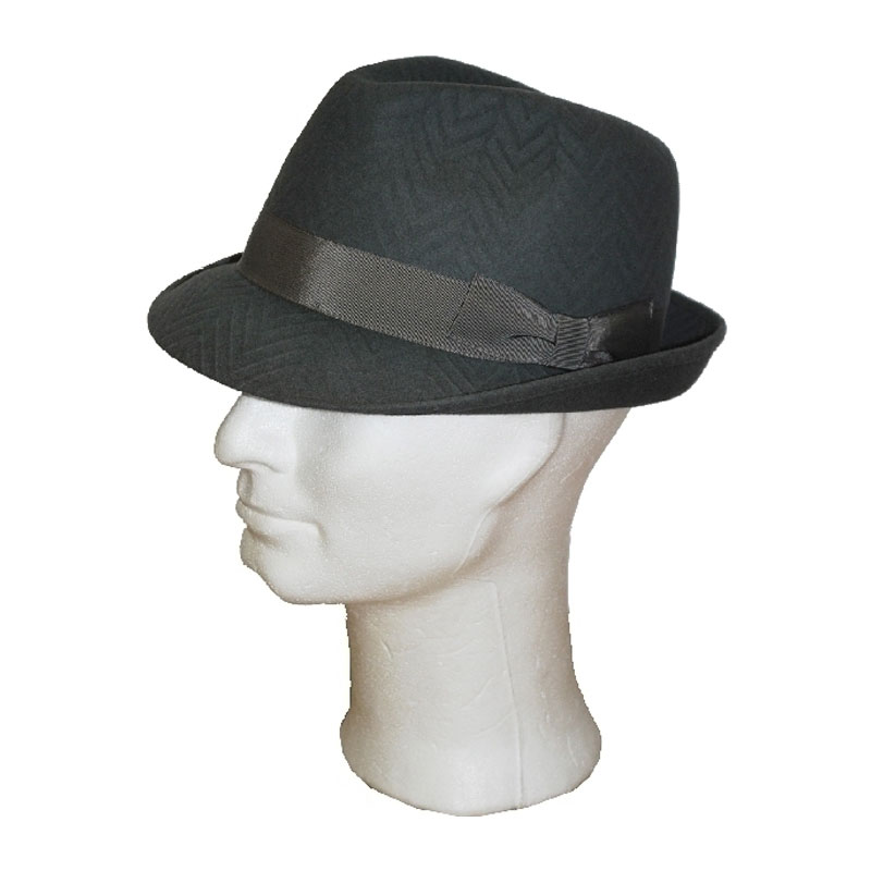 TONAK sötétszürke 020 férfi nyúlszőr kalap