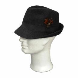 TONAK fekete 022 férfi nyúlszőr kalap