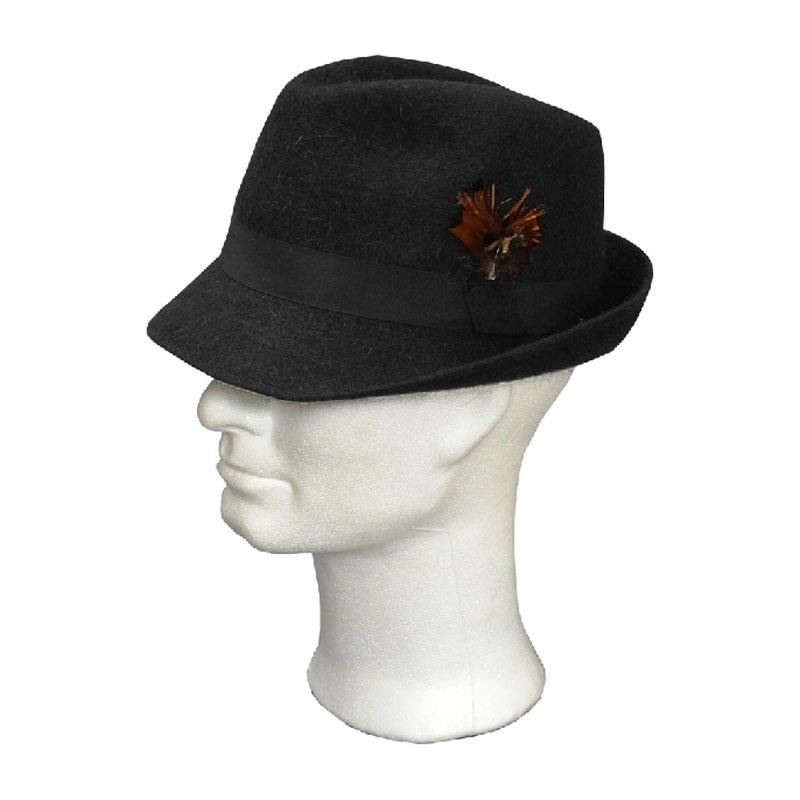 TONAK fekete 022 férfi nyúlszőr kalap  9cdec4b44e