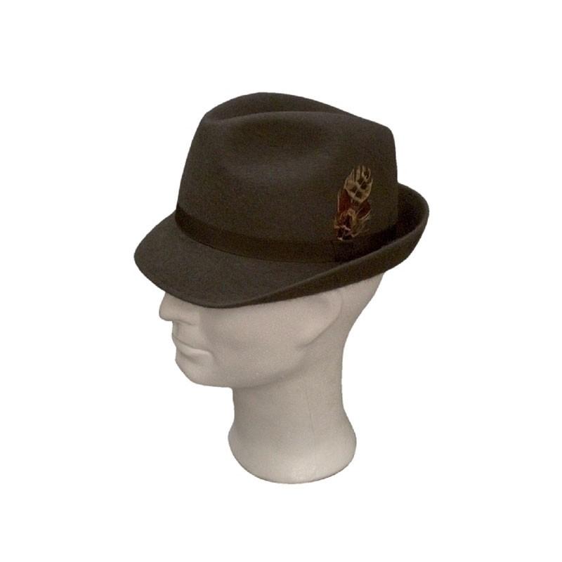TONAK férfi szürke 022 férfi nyúlszőr kalap e7c6885d0a