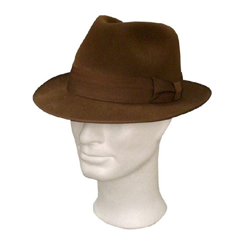 TONAK férfi barna 048 férfi nyúlszőr kalap