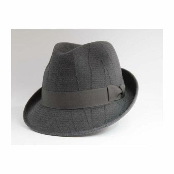 TONAK 509 szürke kiskarimás férfi nyúlszőr kalap