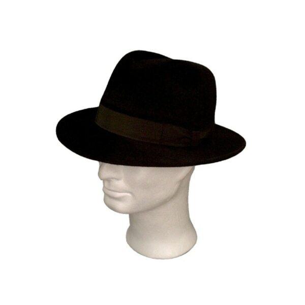 TONAK fekete 044 férfi nyúlszőr kalap