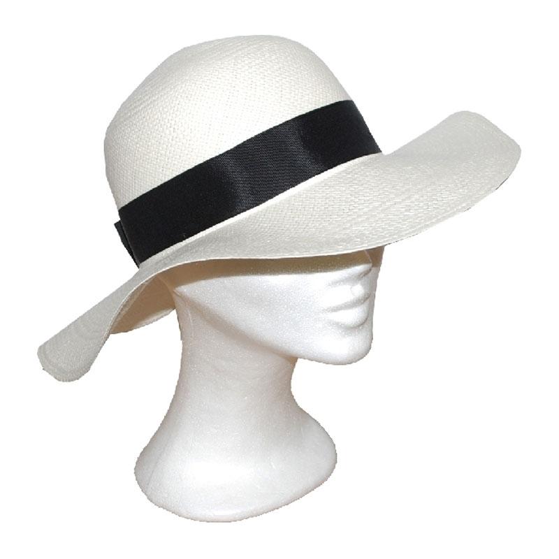 Kalap - nagykarimás női panama kalap a36a2c67eb