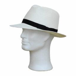 GÖTTMANN fekete szalagos panama kalap