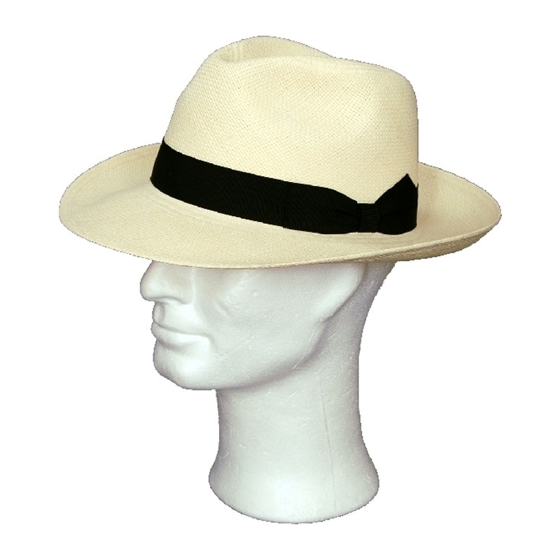 Kalap - fekete szalagos panama kalap f6348edbc2