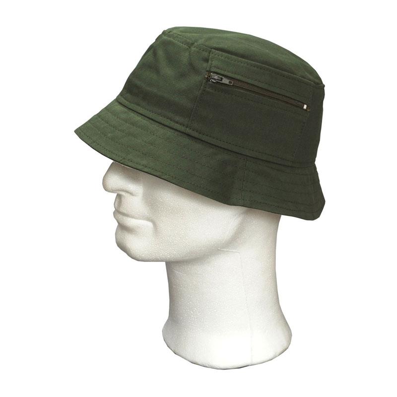 KOTRÁS zöld vászon Surda kalap  125da3b472