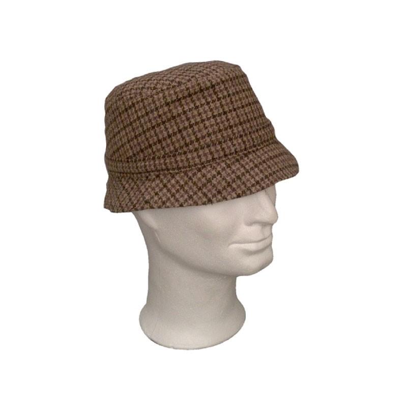 Kalap - kockás szövet Surda kalap  95fc542ba3