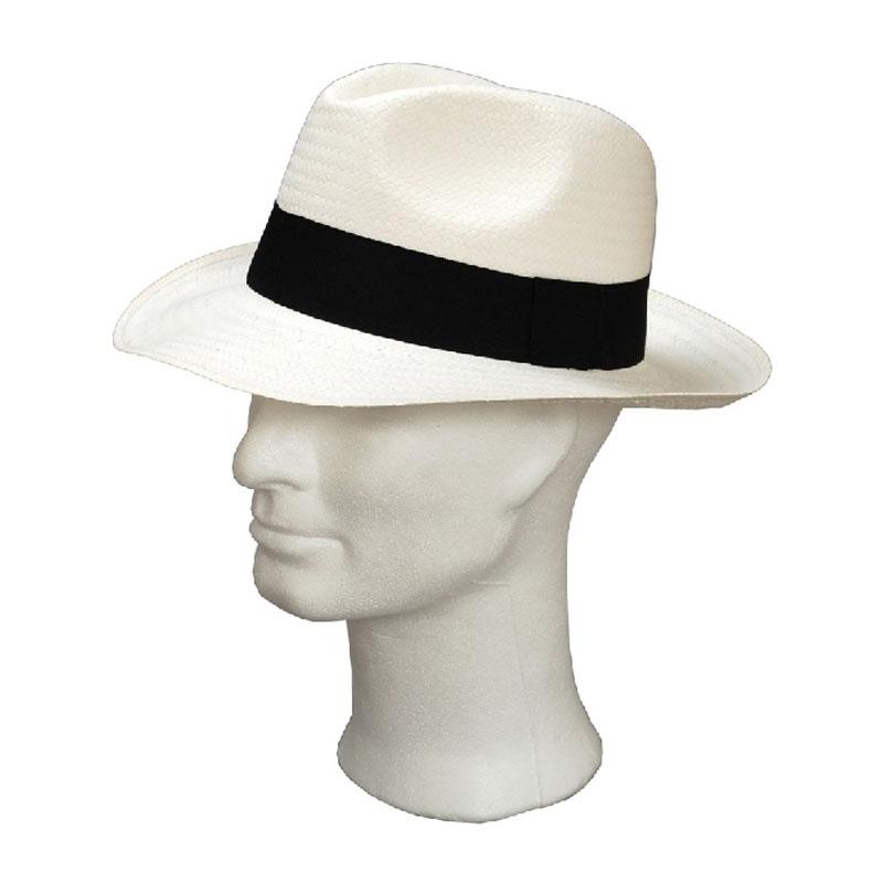 Kalap - fehér férfi szalma kalap a99bb721aa