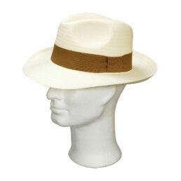 Kalap -  vajszínű férfi szalma kalap