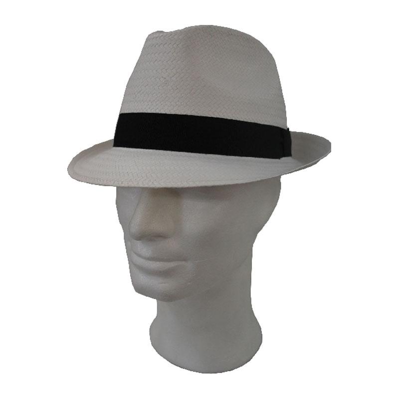 Férfi fehér kiskarimás férfi szalma kalap  a65cd709c7