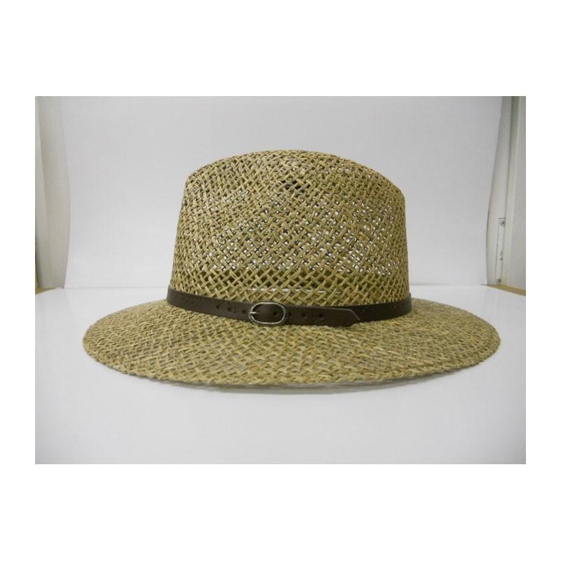 Kalap - bőrpántos traveller 8803 férfi szalma kalap 6f7490592b