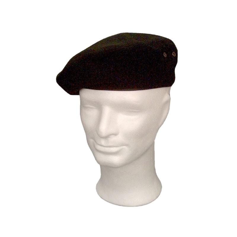 KOTRÁS fekete barett sapka  d9df015fb9
