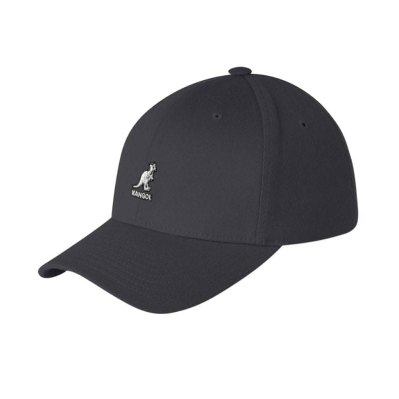 KANGOL wool flexfit fekete baseball sapka  96f62dd3c2