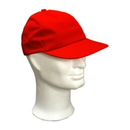 KOTRÁS vászon piros baseball sapka