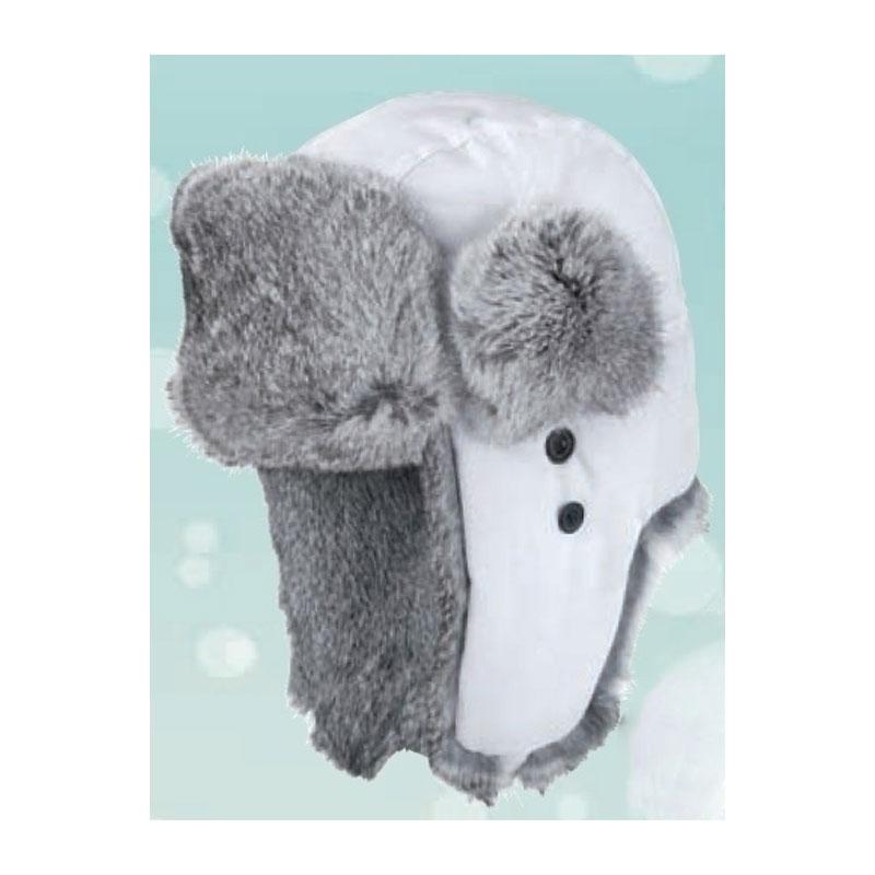Sapka - Nyúlszőrrel fehér usánka sapka  31d9c96c69