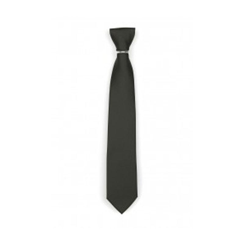 Fekete polyester nyakkendő