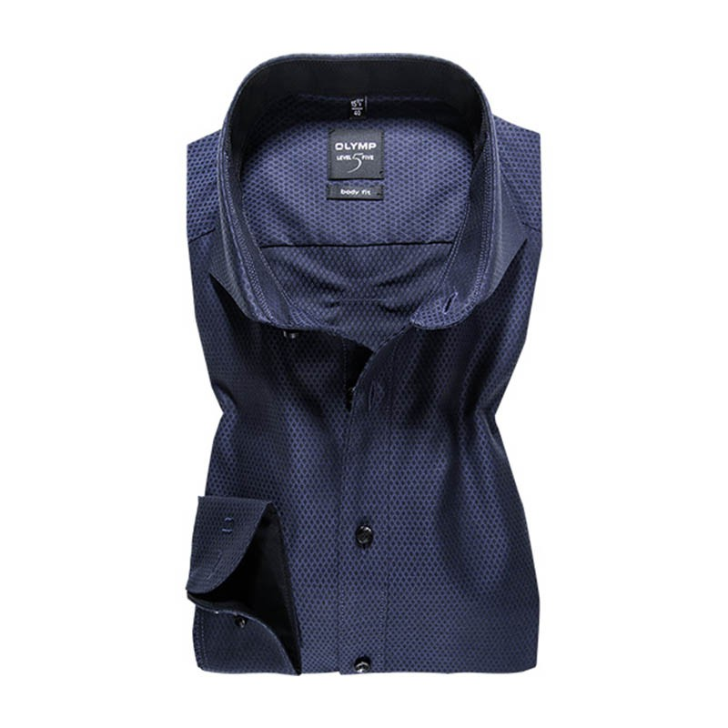 Olymp sötétkék férfi ing