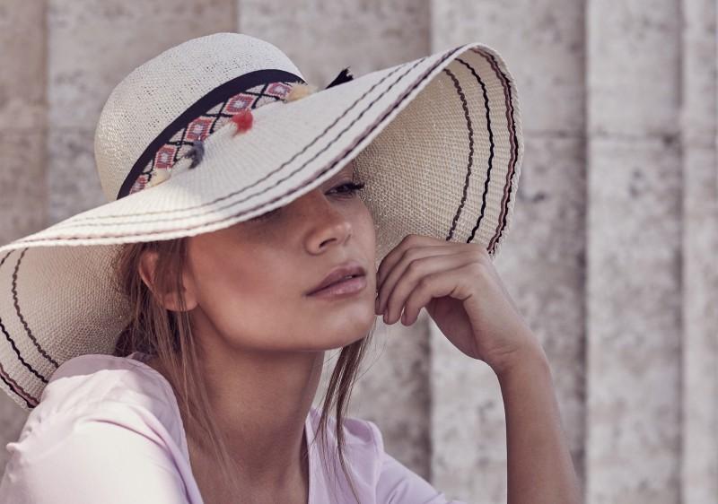 SEEBERGER nagykarimás női szalma kalap 6b07b71462