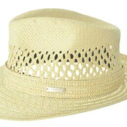 SEEBERGER natur férfi szalma kalap