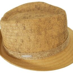 SEEBERGER kiskarimás natur férfi szalma kalap