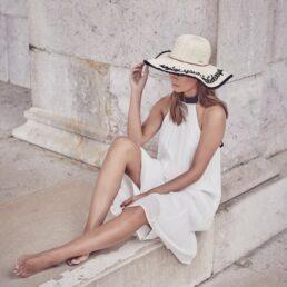 SEEBERGER enjoy your holiday női szalma kalap