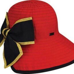 BETMAR Malta piros nyári kalap