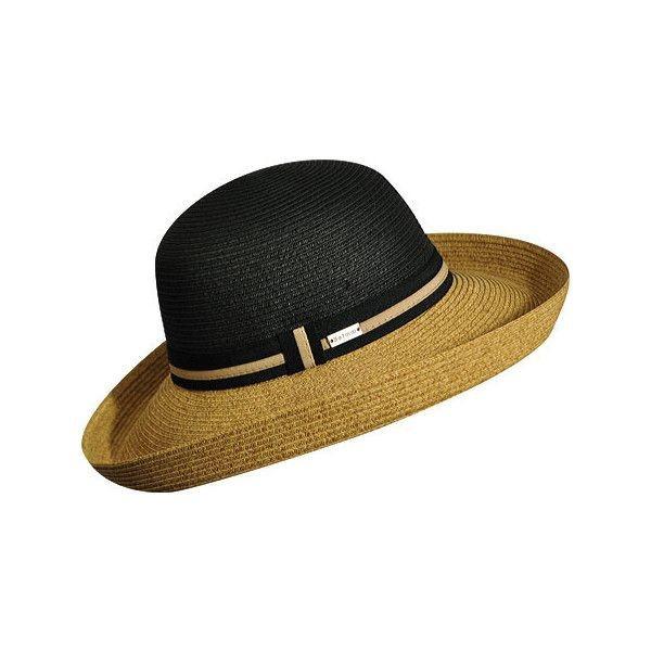 BETMAR Perla sötétkék női szalma kalap