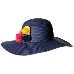 BETMAR St.Tropez kék női szalma kalap