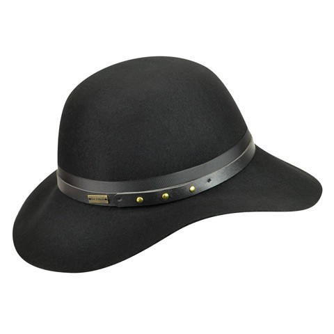 Betmar Hayden női fekete gyapjú kalap  f03cd9dda2