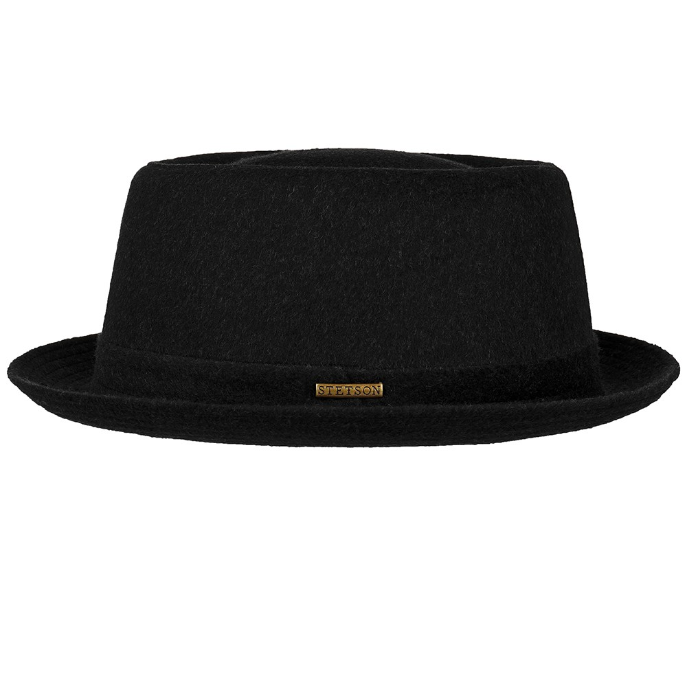 Stetson wool pork pie