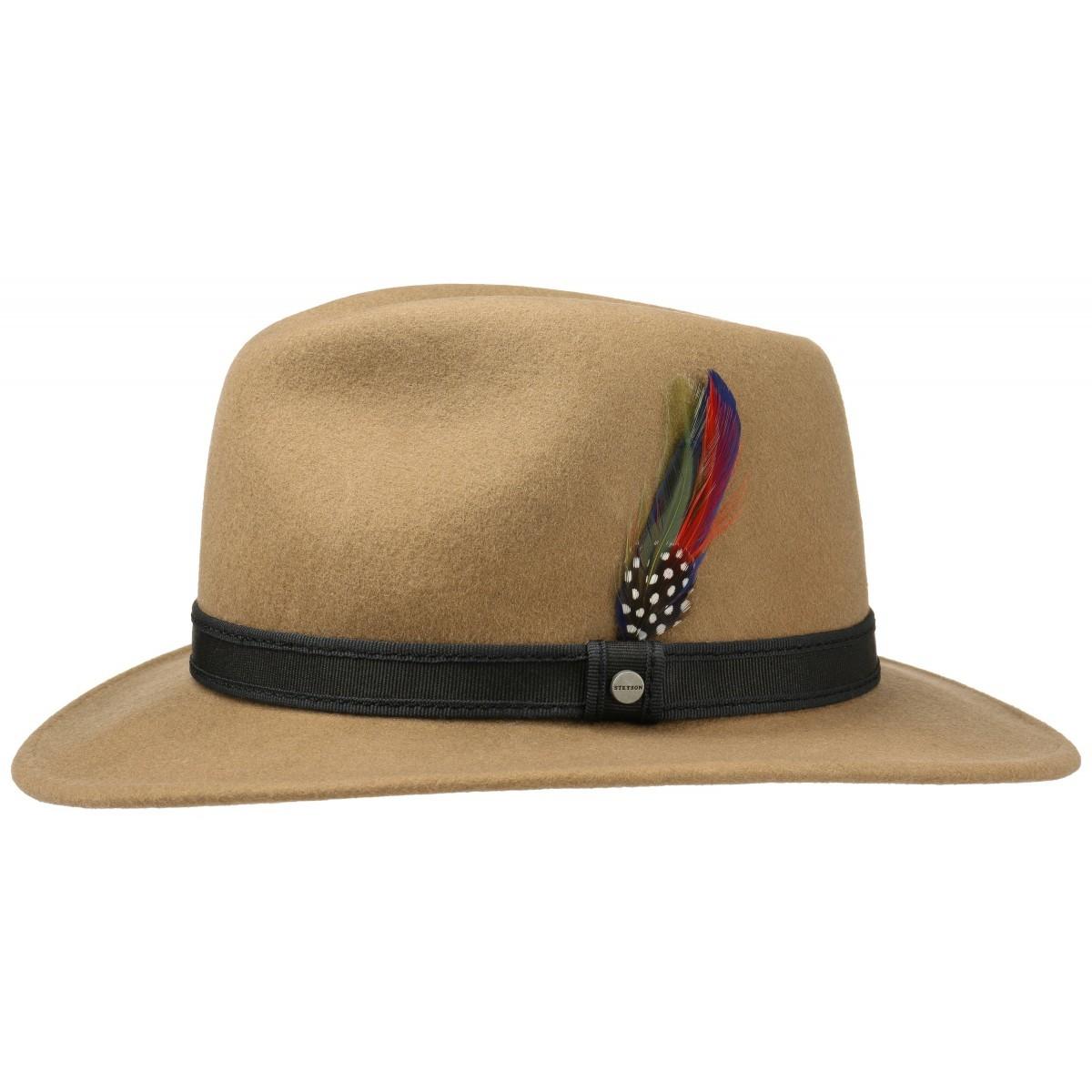 Stetson gyapjú kalap bézs 2528104