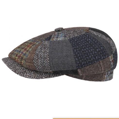Stetson patchwork newsboy cap sapka  8d189bb657