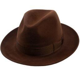 1158013_Q6058 tonak barna férfi nyúlszőr kalap