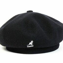 Kangol Jax beret fekete sapka