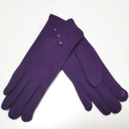 Barett lila női bélelt kesztyű 5980240092