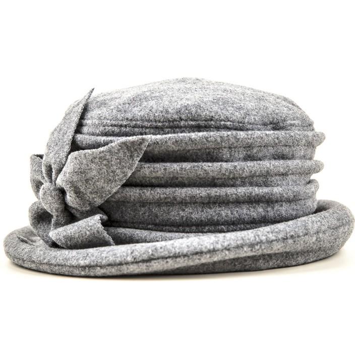 Kotrás női szürke virágos kalap  7290c9e0ed