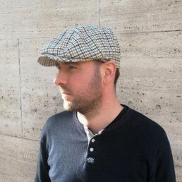 Newsboy-cap-kockás