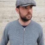 nagyhalszálkás newsboy cap