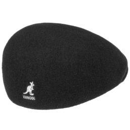 kangol wool 507 fekete golf sapka