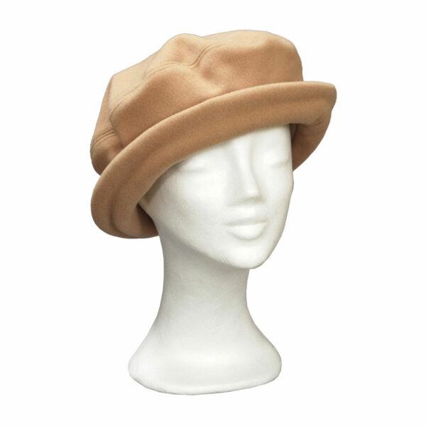 KOTRÁS drapp körkarimás kalap
